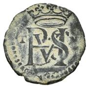 Blanca - Felipe II (Toledo) – obverse