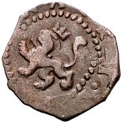 2 Maravedis - Felipe II (Valladolid,low grade billon) – reverse