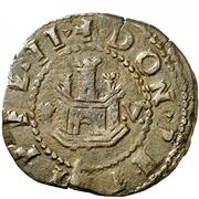 2 Maravedis - Felipe II (Coruna,low grade billon) – obverse