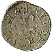 2 Maravedis - Felipe II (Coruna,low grade billon) – reverse