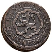 4 Maravedis - Felipe III (Segovia, milled) – reverse