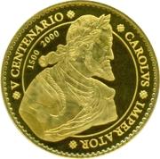 40 000 Pesetas (Charles V) -  obverse