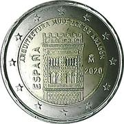 2 Euro (Mudejar Architecture of Aragon) -  obverse