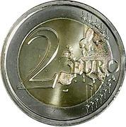 2 Euro (Mudejar Architecture of Aragon) -  reverse