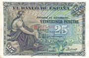 25 Pesetas 1906 – obverse