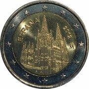 2 Euro (Burgos Cathedral) -  obverse
