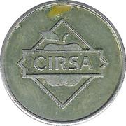 Game Token - Cirsa-Unidesa – reverse