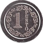 Wash Token - 1 Punto (type 1) – obverse