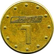 Car Wash Token - Istobal 1 – reverse