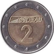 Car Wash Token - Istobal 2 – reverse