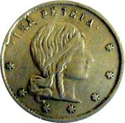 1 Peseta - Casino Token – reverse