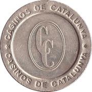 25 Pesetas - Casinos de Catalunya – obverse
