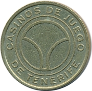 50 Pesetas - Tenerife Gaming Casinos – reverse