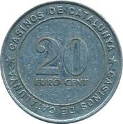 25 Euro Cent - Casinos de Catalunya – reverse
