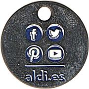 Shopping Cart Token - Aldi – reverse