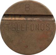 Telephone Token - Telefonos (2 grooves; B) – obverse