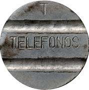 Telephone Token - Telefonos (3 grooves; T iron) – obverse