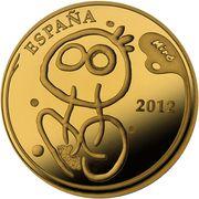 400 Euro (Joan Miró) -  obverse