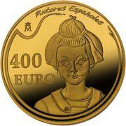 400 Euro (Joan Miró) -  reverse
