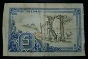 5 Pesetas (Banco de Bilbao) – reverse