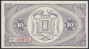 10 Centims – reverse