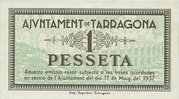 1 Pesseta – reverse