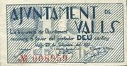 10 Cèntims (Valls) – obverse