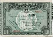 100 Pesetas (Bilbao) – obverse