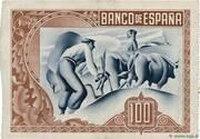100 Pesetas (Bilbao) – reverse