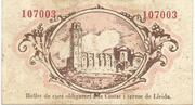 50 Centims (Ajuntament de Lleida) – reverse