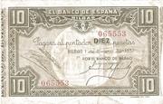 10 Pesetas (Banco de Espana - Bilbao) – obverse