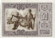 50 Pesetas (Banco de Espana - Bilbao) -  reverse
