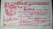 25 Centimos (Consejo Municipal de Lorca) – obverse