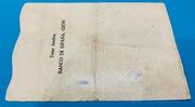 100 Pesetas 1936 Gijón – reverse