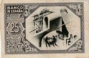 25 Pesetas (Bilbao) – reverse