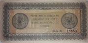 50 Centimos Ajuntament de Sitges – reverse