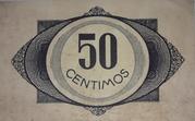 50 céntimos Maella – reverse