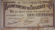 10 Centims Ajuntament de Figueres – obverse