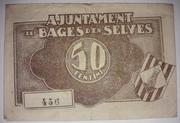 50 Centims Bages D' en Selves – reverse