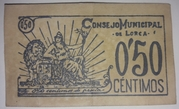50 Centimos Lorca – reverse