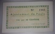 50 Céntimos  Pauls – obverse
