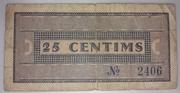 25 Céntimos  Montbrió del Camp – reverse