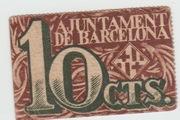 10 Centims (Ajuntament de Barcelona) – obverse