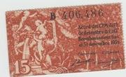 15 Centims (Ajuntament de Barcelona) – reverse