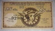 25 Centims  Ajuntament de Vic – obverse