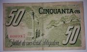50 Céntimos  Ajuntament de Just Desvern – reverse