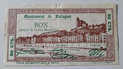 50 Céntimos  Ajuntament de Balaguer – obverse