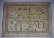 50 Céntimos  Ajuntament de Ripoll – obverse