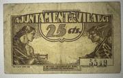 25  céntimos Vilaboi – reverse