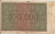 100,000 Mark (Krupp) – reverse